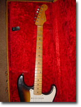1956 Fender Stratocaster Upper Body Neck And Head