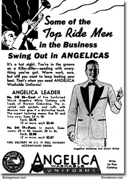 Big Bandleaders with style buy Angelica Big Band uniforms