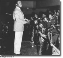 The Jimmie Lunceford Big Band swings
