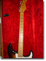 1956 Fender Strat Neck And Head